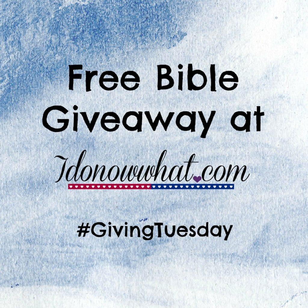 biblegiveaway